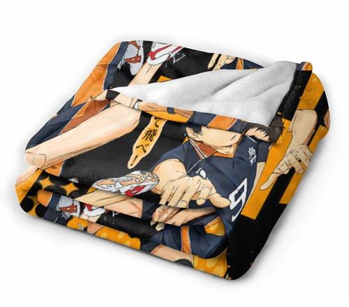 haikyuu  micro manta ultra suave sofá cama maorí hipo...