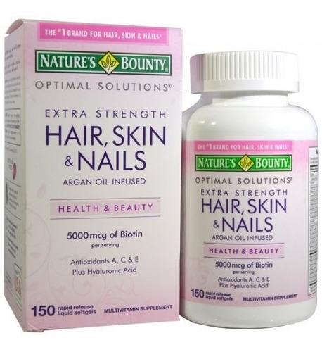 hair skin and nails - 150 soft - natures bounty