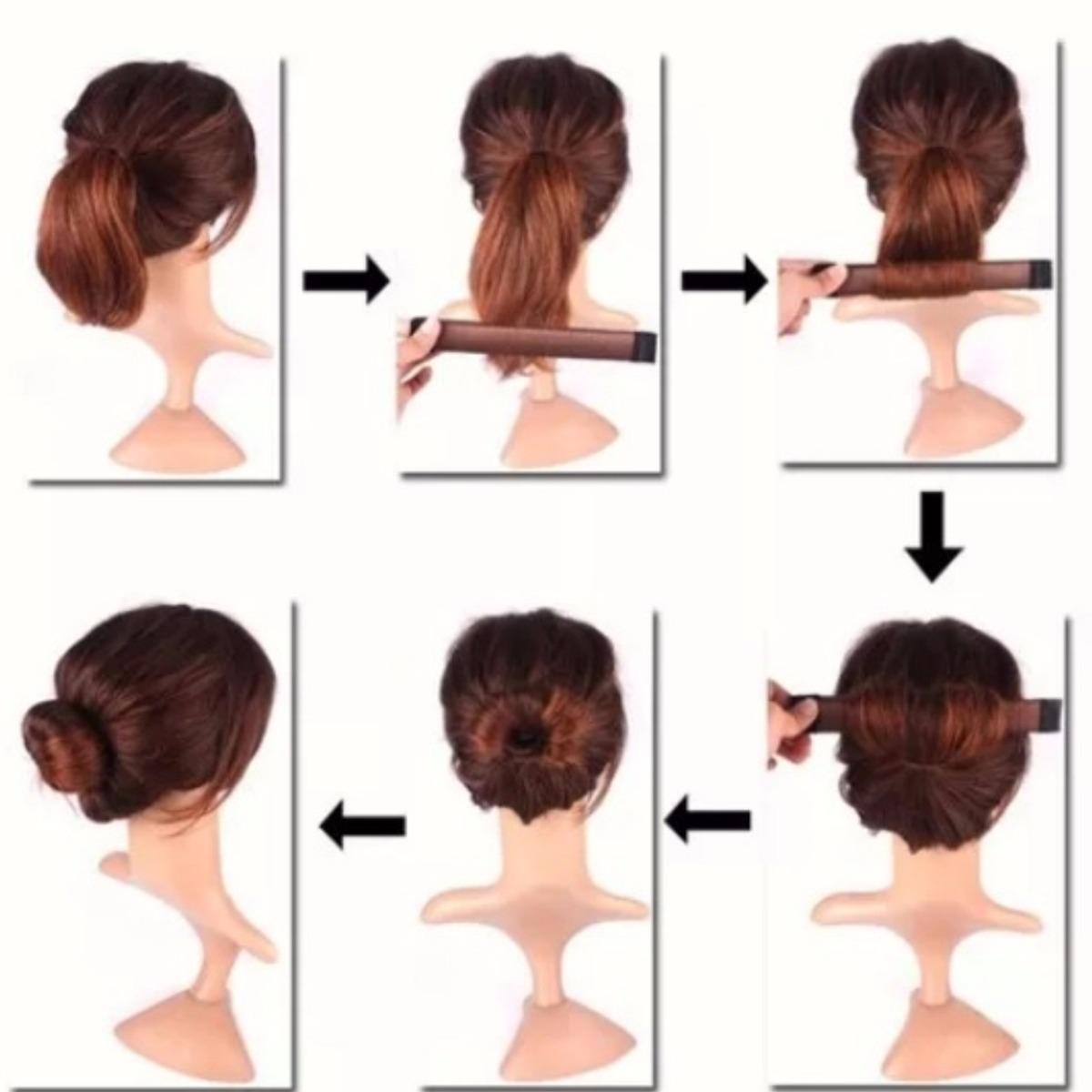 hairagami mágico presilhas para cabelos coques penteado r 14 99