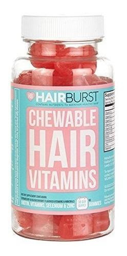 hairburst  chewable vitaminas para el crecimiento capilar s