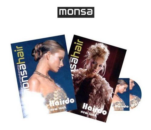 hairdo new look 2 vols + 1 cd rom monsa