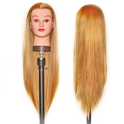 hairealm 26 28 cabeza maniquí cabeza entrenamiento peluquerí
