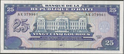 haiti 25 gourdes 1988 p248a