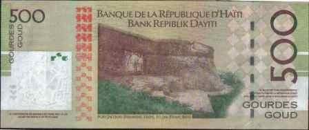 haiti, 500 gourdes 2008 p277c