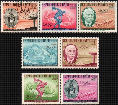 haiti - olimpíadas ( roma 1960 ) - s/completa