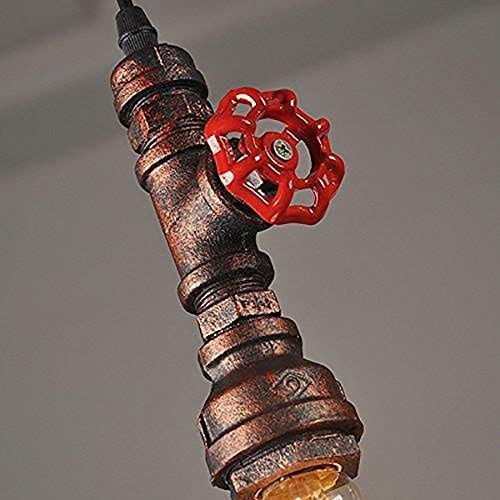 haixiang e27 rústico industrial de cobre sombra de metal...