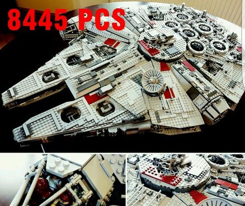 halcon milenario (+8000 piezas) compatible lego ! 75192