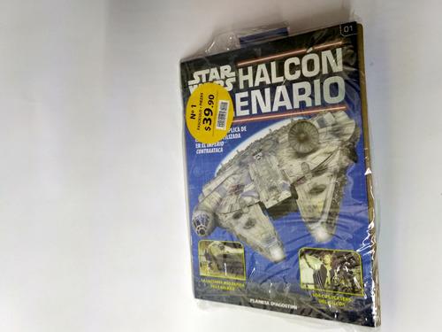 halcón milenario - fascículo 1 - star wars