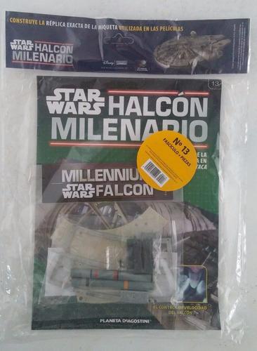 halcon milenario - fasciculo 13  - planeta deagostini