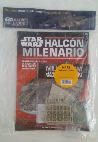 halcon milenario - fasciculo 15  - planeta deagostini