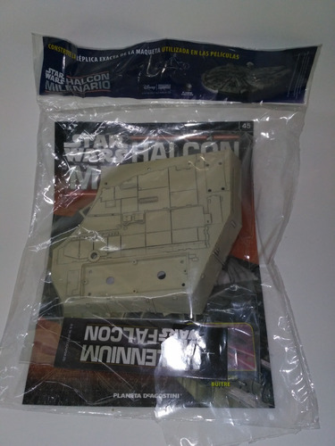 halcón milenario - fascículo 45 - star wars