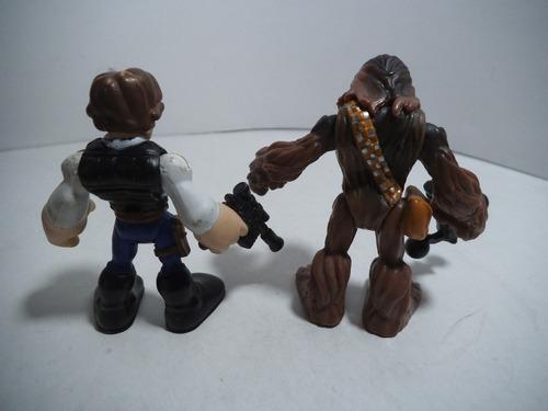 halcon milenario han solo y chewbacca jedi force star wars