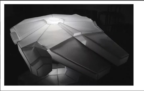 halcon milenario lampara (para armar en papel)