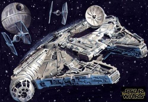 halcon milenario nave star wars hasbro - fair play toys