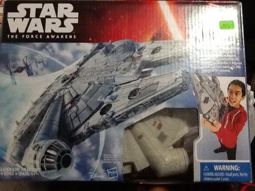 halcon milenario nuevo star wars the force awakens