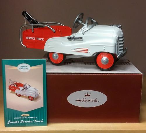 hallmark kiddie car classics junior service truck grua 1941