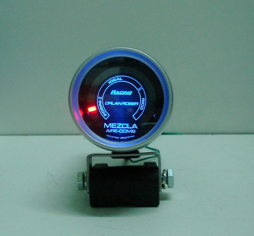 hallmeter medidor mezcla air fuel orlan rober racing 52mm