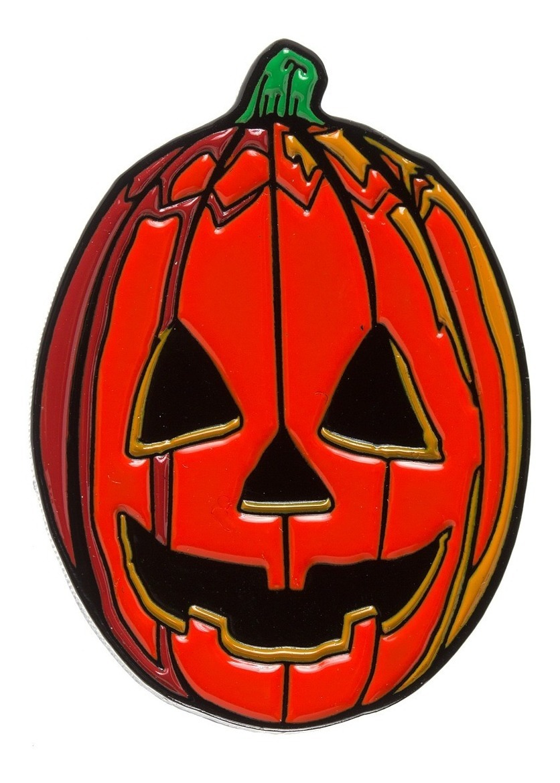 Halloween 3 Pumpkin Enamel Pin Trick Or Treat Michael Myers.