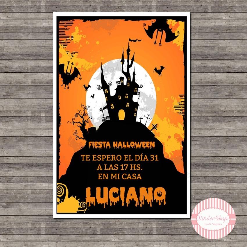 Halloween Brujas Terror Tarjeta Invitacion Digital Whatsapp