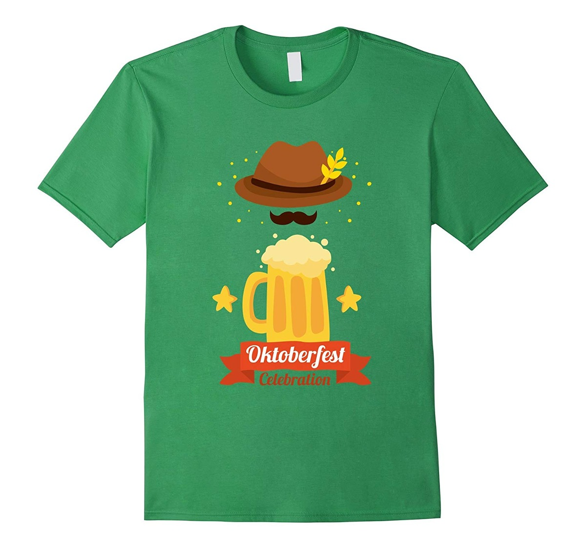 e58ae3a3fa746 Halloween Cerveza Alemana Sombrero Bigote Camiseta De Oktobe ...