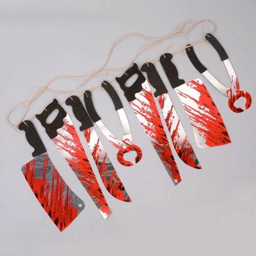 halloween cuerda cuchillos tortura sangre party casa muertos