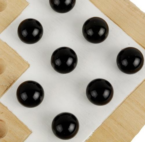 halma juego de mesa / ingenio artesanal de madera p/ niños