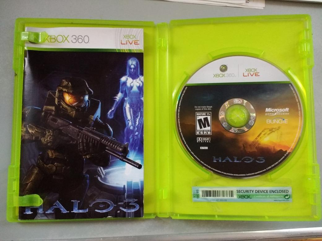 Halo 3 Y Halo 3 Odst Usados Xbox 360