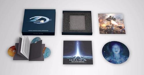 halo 4 limited edition  bundle soundtrack raro!