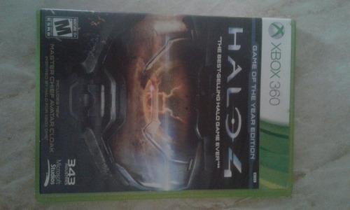 halo 4 xbox 360 con disco para multiplayer