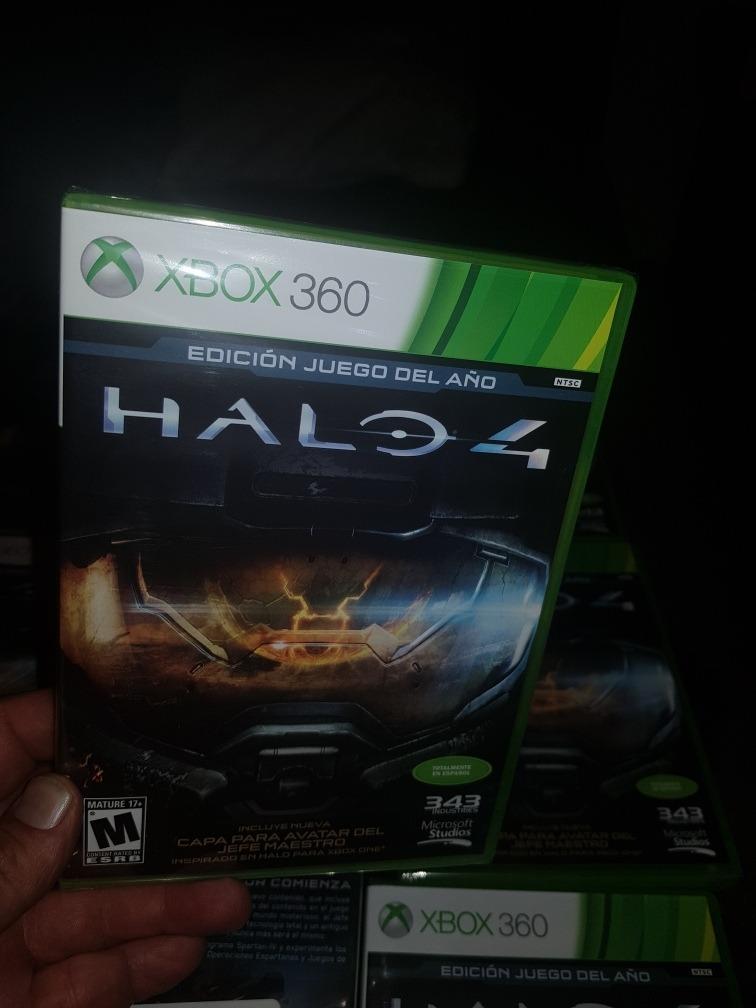 Halo 4 Xbox 360 Edicion De Juego Del Ano Nuevo Incluye Envio
