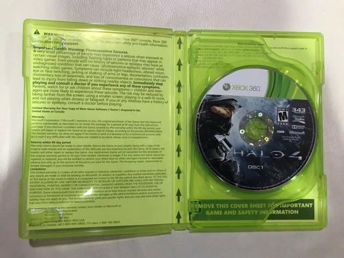 halo 4 xbox 360 - fisico 2 cds