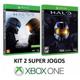 Halo 5 4 3 2 1 + Nightfall - Midia Fisica Lacrado - Xbox One