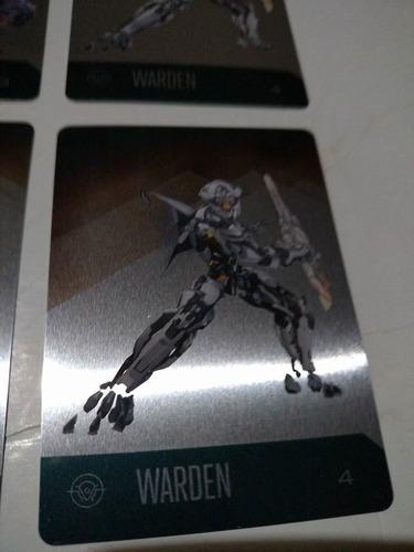 halo 5 colección 4 tarjetas metálicas master chief xbox one