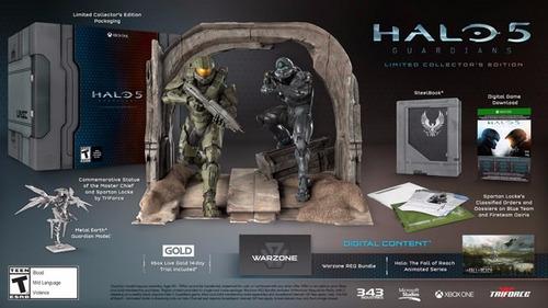 halo 5 collectors edition nuevo xbox one