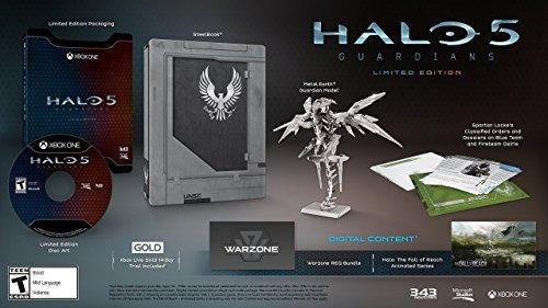 halo 5: guardians - edición limitada (disco físico) - xbox