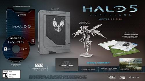 halo 5: guardians - edición limitada (disco físico) - xbox o