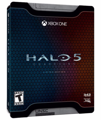 halo 5 guardians - edición limitada (disco físico) -xbox one