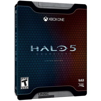 halo 5: guardians limited edition - xbox one