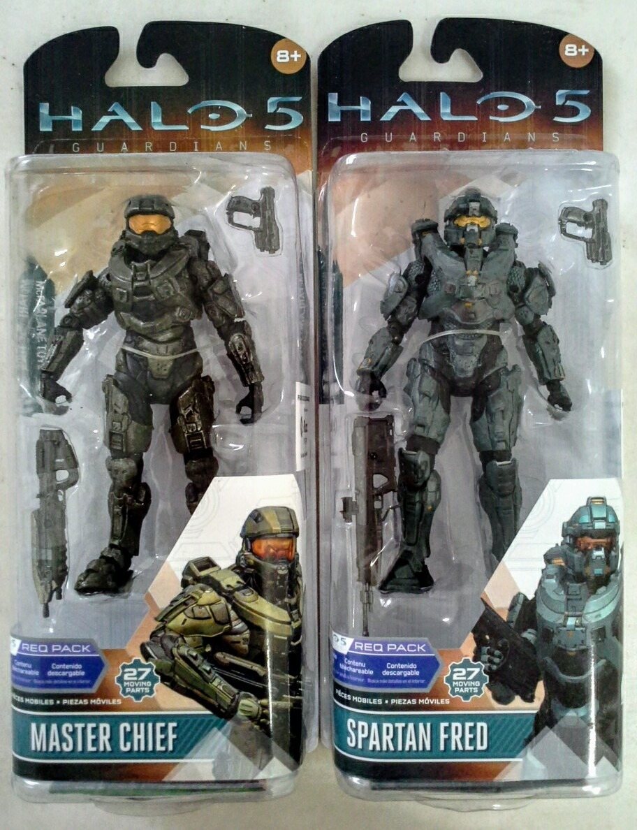 Halo 5 Guardians Mcfarlane Master Chief + Spartan Fred