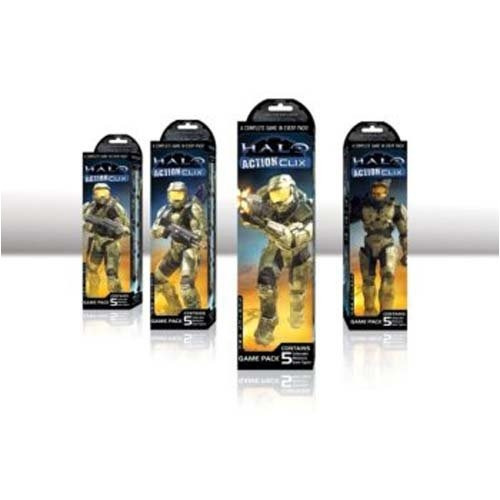 halo actionclix game pack 5 clix
