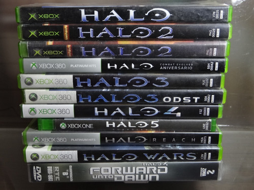 halo colección 1 2 3 4 5 wars reach odst xbox 360 one dvd