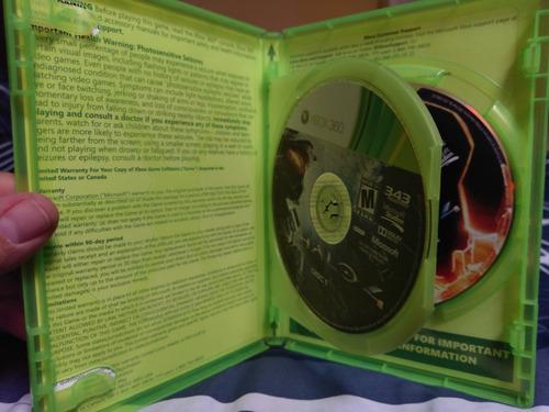 halo coleccion 1 a 4 xbox 360, usada, envio gratis