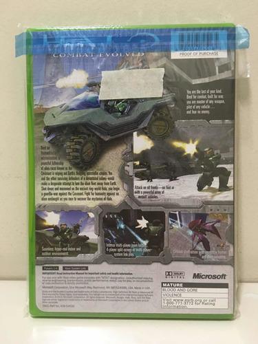 halo combat evolved microsoft xbox