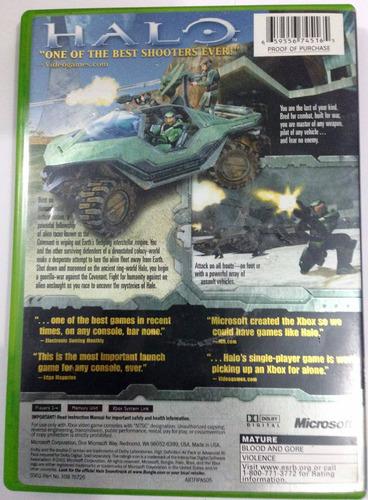 halo: combat evolved xbox americano