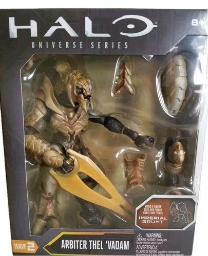 halo - figura arbiter thel vadam 15 cm mattel fdn98 juguete