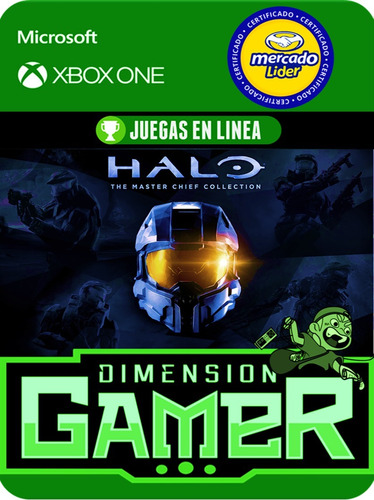halo mastechierf collection - xbox one - online/off-line