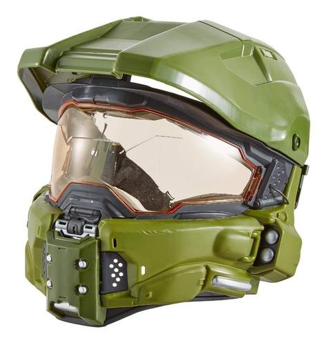 halo master chief casco táctico con sonidos mattel fpn94