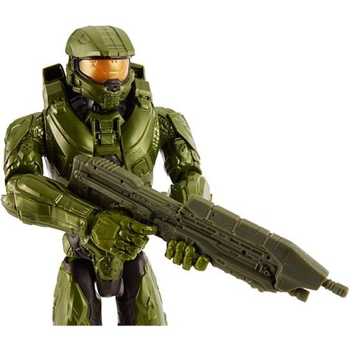 halo master chief muñeco 30 cm mattel - fair play toys