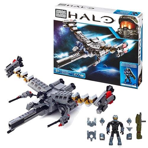 Halo Mega Bloks Booster Frame Nave Spartan Fred 104 Legends