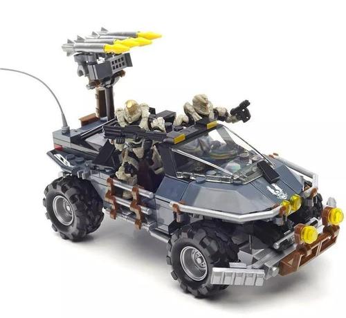 halo mega bloks - warthog dual mode unsc